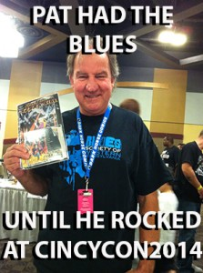 Pat: the blues fan!